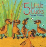 Book cover of 5 LITTLE DUCKS