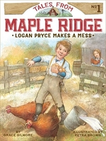 Book cover of LOGAN PRYCE MAKES A MESS