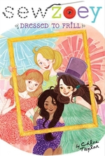 Book cover of SEW ZOEY - DRESSED TO FRILL