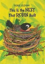 Book cover of THIS IS THE NEST THAT ROBIN BUILT