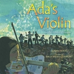 Book cover of ADA'S VIOLIN