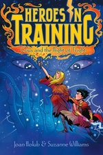 Book cover of HEROES IN TRAINING 09 CRIUS & THE NIGHT