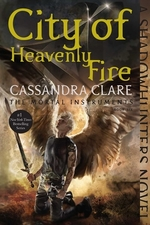 Book cover of MORTAL INSTRUMENTS 06 CITY OF HEAVENLY F