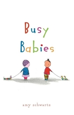 Book cover of BUSY BABIES