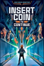 Book cover of INSERT COIN TO CONTINUE