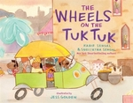 Book cover of WHEELS ON THE TUK TUK