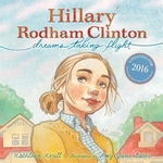 Book cover of HILLARY RODHAM CLINTON