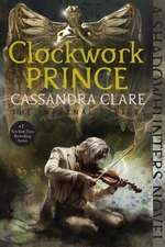 Book cover of CLOCKWORK PRINCE