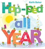 Book cover of HAP-PEA ALL YEAR