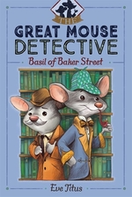 Book cover of BASIL OF BAKER STREET