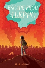Book cover of ESCAPE FROM ALEPPO