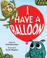 Book cover of I HAVE A BALLOON