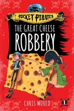 Book cover of GREAT CHEESE ROBBERY