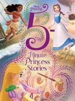Book cover of 5 MINUTE PRINCESS STORIES