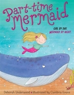 Book cover of PART-TIME MERMAID