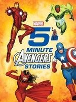 Book cover of 5 MINUTE AVENGERS STORIES