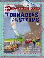 Book cover of AWESOME BOOK OF TORNADOES & OTHER STOR
