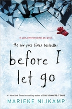Book cover of BEFORE I LET GO