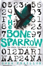 Book cover of BONE SPARROW