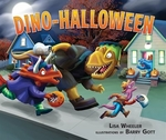 Book cover of DINO-HALLOWEEN