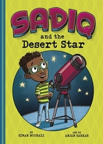 Book cover of SADIQ & THE DESERT STAR
