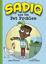 Book cover of SADIQ & THE PET PROBLEM