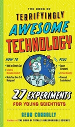 Book cover of BOOK OF TERRIFYINGLY AWESOME TECHNOLOGY