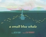 Book cover of SMALL BLUE WHALE