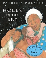 Book cover of HOLES IN THE SKY