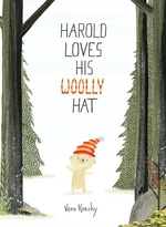 Book cover of HAROLD LOVES HIS WOOLLY HAT