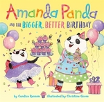 Book cover of AMANDA PANDA & THE BIGGER BETTER BIRTHDA