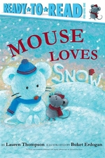 Book cover of MOUSE LOVES SNOW
