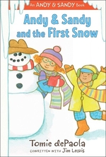 Book cover of ANDY & SANDY & THE 1ST SNOW