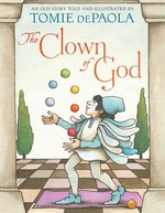 Book cover of CLOWN OF GOD