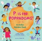 Book cover of P IS FOR POPPADOMS