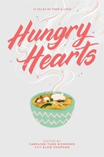Book cover of HUNGRY HEARTS - 13 TALES OF FOOD & LOVE
