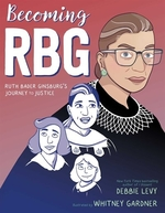 Book cover of BECOMING RBG