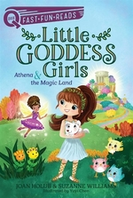 Book cover of LITTLE GODDESS GIRLS 01 ATHENA & THE MAG