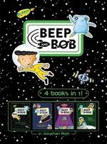 Book cover of BEEP & BOB - 4 BOOKS IN 1