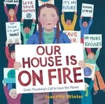 Book cover of OUR HOUSE IS ON FIRE