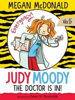 Book cover of JUDY MOODY MD THE DOCTOR IS IN