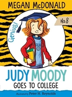 Book cover of JUDY MOODY GOES TO COLLEGE