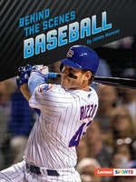 Book cover of BEHIND THE SCENES BASEBALL