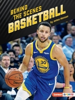 Book cover of BEHIND THE SCENES BASKETBALL