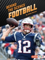 Book cover of BEHIND THE SCENES FOOTBALL