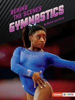 Book cover of BEHIND THE SCENES GYMNASTICS