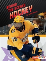 Book cover of BEHIND THE SCENES HOCKEY