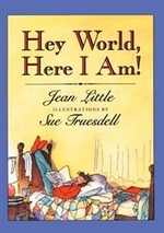 Book cover of HEY WORLD HERE I AM -REVISED