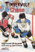Book cover of TIMBERWOLF CHASE