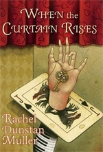 Book cover of WHEN THE CURTAIN RISES